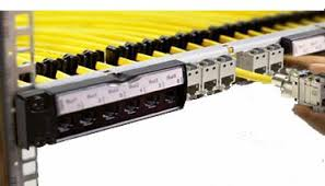پچپنل Cat 6A SFTP 24port لگراند